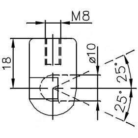 Sprężyna gazowa (FA Krosno 24984) ALFA ROMEO 159 Sportwagon (140) klapy bagażnika - kombi 03/06-